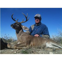 9-Day Mule Deer and Coues Deer Hunt for One Hunter in Mexico - Includes Trophy Fees
