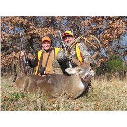 5-Day Whitetail Hunt for One Hunter and One Non-Hunter with Craig Boddington in Kansas - Includes On