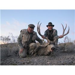 3-Day Mule Deer Hunt for One Hunter and One Non-Hunter with Señor Jesús Yurén in Mexico