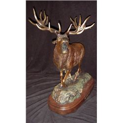 Red Stag Bronze by Rick Taylor