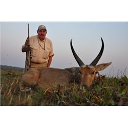 7-Day Sable and Plains Game Hunt for One Hunter and One Non-Hunter in Zambia - Includes Trophy Fees