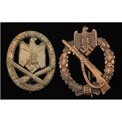 German World War II Army Badge