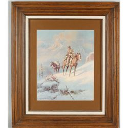 Fine Art Print by noted Western Artist