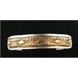 Sterling & Gold Filled Cuff by Darin Bill