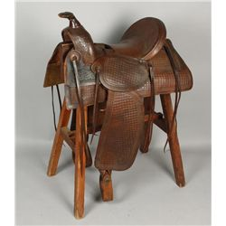 Western Highback Saddle