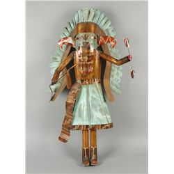 Copper Art Piece  Medicine Man