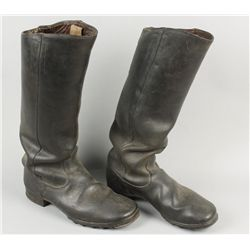 WWI German Leather Boots