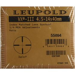 Leupold Scope VX-III 4.5-14X40MM