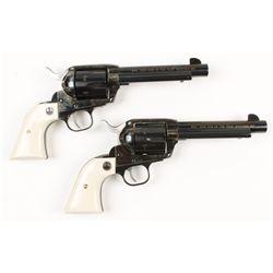 Ruger Vaquero 2 Gun Set Cal .45LC