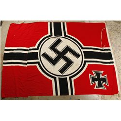 Naval Marked Nazi Building Flag