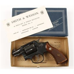 Smith & Wesson Pre Model 10 Cal .38spl SN: S971032
