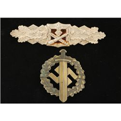 German World War II Army Silver Close Combat Clasp