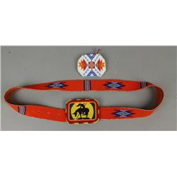 "Shoshone ""End of the Trail"" Belt"