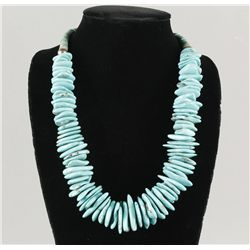 Men's Heishi Turquoise Necklace