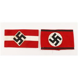 German World War II Waffen SS Officers Arm Band