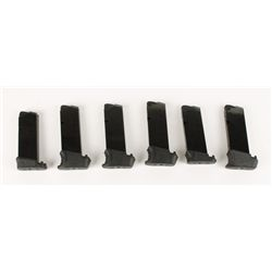 Lot of 6 Walther PPS .40 S&W Magazines