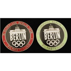2 German World War II 1936 Berlin Summer Olympics