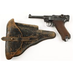 Mauser Mdl P-08 Cal 9mm SN:8563