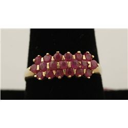 Ladies Ruby Ring