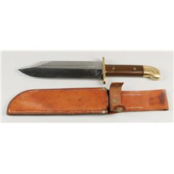 Pacific Theater Bowie Knife Handmade