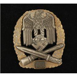 German World War II Army '100' General Assault