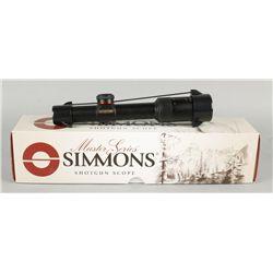 Simmons Master Series Shotgun Scope ProDiamond 1.5