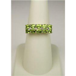 Splendid 20 Karat Yellow Gold Ladies Ring