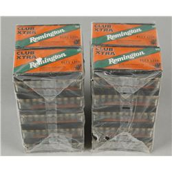 Lot of 20 Boxes Remington Club Xtra Ammo