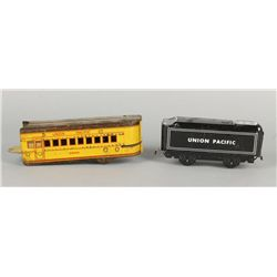 Union Pacific Passenger Car and Train