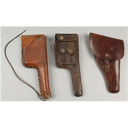 Lot of 3 Holsters