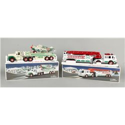 Hess Fire Truck and Airplane Set