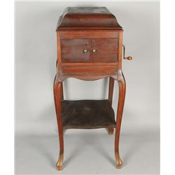 Mahogany Antique Victrola Phonograph
