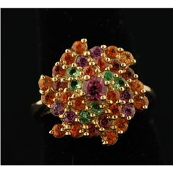 10K Multi-Gemstone Ring