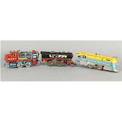 3 Engine Toy Trains