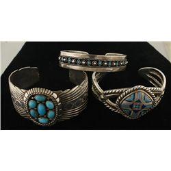 Lot of Native American Cuffs