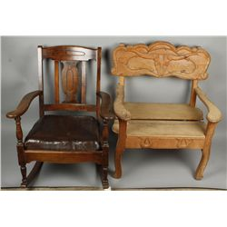 2 Western Chairs