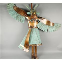 "Copper Art Piece ""Eagle Dancer"""