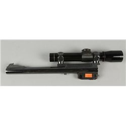 Thompson Contender Barrel with Leupold Scope
