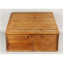 Vintage Cedar Cash Box