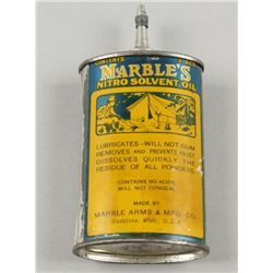 Vintage Marbles Nitro Solvent Oil Can
