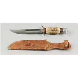 Solinger Stag Handle Knife