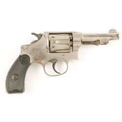 Smith & Wesson Mdl Hand Ejector 3rd Mdl Cal .32L S