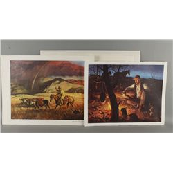 1 Kenneth Rylie Prints and 5 Duane Byer Prints