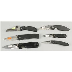 Lot of 6 Pocket Knives