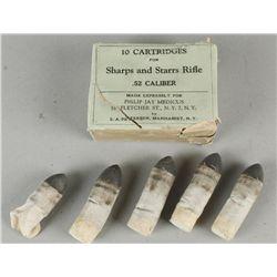 Sharps Cartridges in Original Box