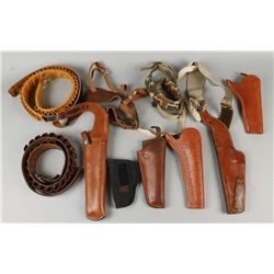 Holster and Cartridge Belt Lot