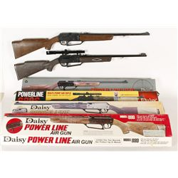Lot of Daisy Powerline 880 Air Rifles