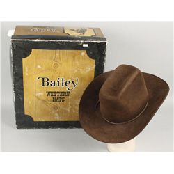 Chocolate Brown Bailey Cowboy Hat 5X with box