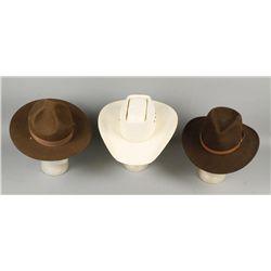 Lot of Three Hats