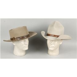 Lot of Two Cowboy Hats